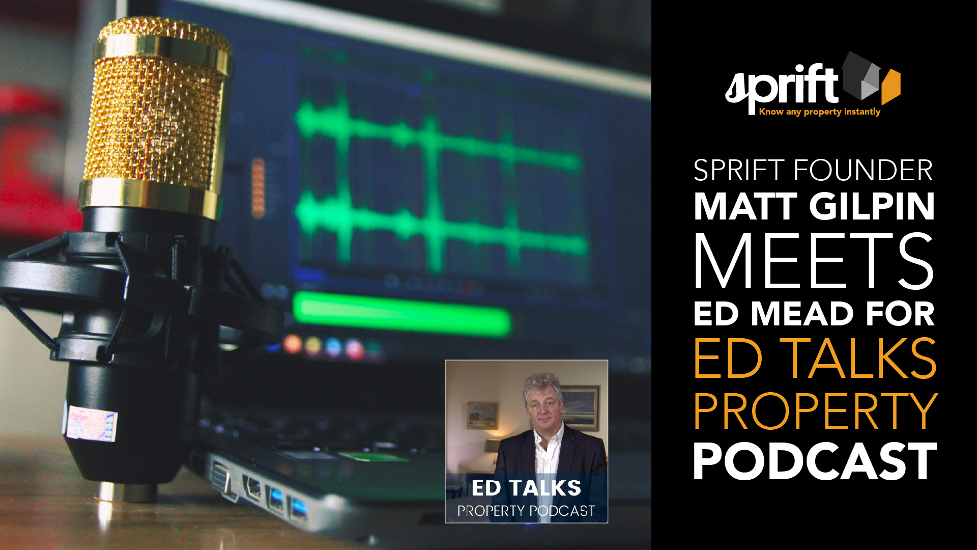 Sprift meets the Ed Mead, talks property data